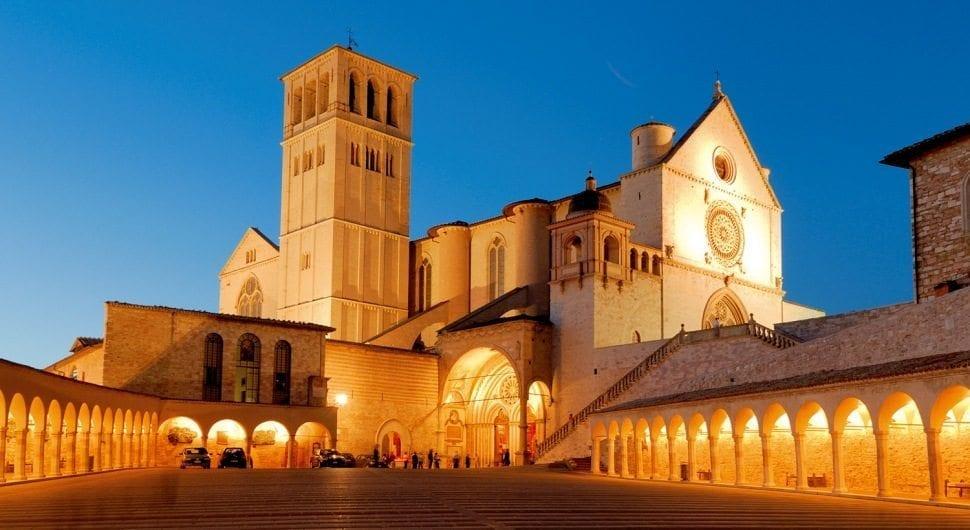 basilica convento san francesco assisi umbria
